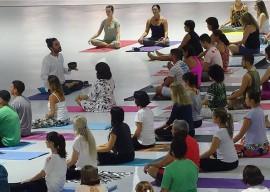 yoga aulão espaço 2 1 270x192 - Neste sábado: Funesc disponibiliza aula gratuita de Yoga no Espaço Cultural