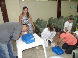 DSC04130 270x202 - Hospital de Trauma de João Pessoa capacita funcionários sobre suporte básico de vida