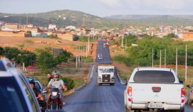 PICUI6 270x158 - Ricardo inspeciona obras da rodovia PB-151 no município de Picuí