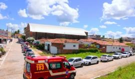 SOBRADO 270x158 - Ricardo inspeciona obras do Viaduto do Geisel, inaugura ruas em Sobrado e UPS em Santa Rita