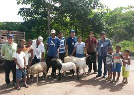 caprinos Oziel 11 05  270x192 - Agricultores do Ecoprodutivo recebem matrizes e reprodutores de caprinos do Governo do Estado