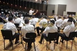 Concerto de bandas1 36 270x180 - Alunos e professores de 36 escolas da rede estadual de João Pessoa realizam concerto no Espaço Cultural