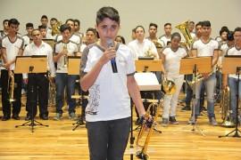 Concerto de bandas1 45 270x180 - Alunos e professores de 36 escolas da rede estadual de João Pessoa realizam concerto no Espaço Cultural