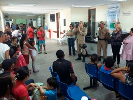 FotoArlinda1 portal 270x202 - Prevenção: palestra sobre uso de fogos de artifício é ministrada a pacientes do Arlinda Marques