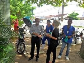hemocentro faxina 270x202 - Hemocentro da Paraíba realiza dia de faxina contra o mosquito Aedes aegypti