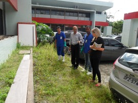 hemocentro faxina1 270x202 - Hemocentro da Paraíba realiza dia de faxina contra o mosquito Aedes aegypti