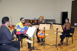 prima musicos da venezuela foto vanilvaldo ferreira secom pb 391 270x180 - Quarteto venezuelano Pequeña Venecia é atração da edição de julho do projeto Música do Mundo da Funesc
