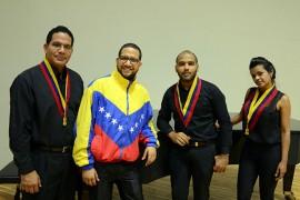 prima musicos da venezuela foto vanilvaldo ferreira secom pb 601 270x180 - Quarteto venezuelano Pequeña Venecia é atração da edição de julho do projeto Música do Mundo da Funesc