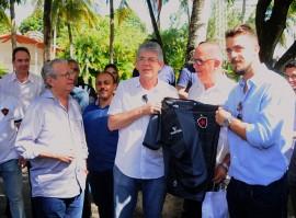 BOTAFOGO1 portal 270x199 - Ricardo recebe delegação do Botafogo da Paraíba e destaca desempenho da equipe na Copa do Brasil