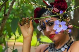 Foto Andrea Monteiro 270x180 - Prorrogadas inscrições para curso de dança Tribal Fusion oferecido pela Funesc