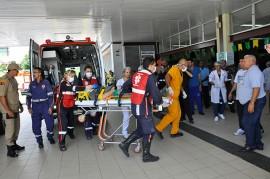 SIMULAÇÃO NO HOSPITAL DE EMÊRGENCIA E TRAUMA DE JP ORTILO 9 portal 270x179 - Acidentes de trânsito contabilizam mais de cinco mil entradas no Hospital de Trauma de João Pessoa