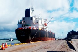 navio MR Canopus portal 270x181 - Porto de Cabedelo tem movimentação média de três navios por semana