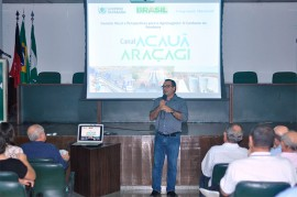 sedap palestra2 270x179 - Secretário da Agropecuária e da Pesca faz palestra no auditório da Asplan