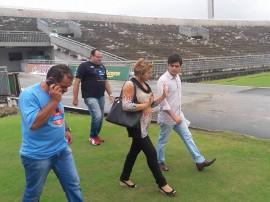 vistoria estadio1 270x202 - Copa do Brasil: Governo realiza inspeção no Almeidão para jogo entre Botafogo da Paraíba e Ceará