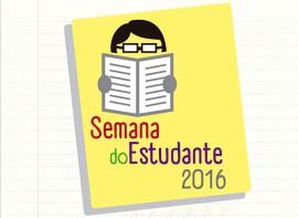 Banner Semana do Estudante 2016 270x197 - Educação divulga programação da Semana do Estudante 2016