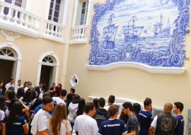 Ligia Inaugura  o Azuleijos Jr Fernandes 23 270x191 - Lígia entrega restauração do painel Naus Portuguesas e abre II Semana do Patrimônio Cultural