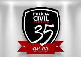 Logo PC 35 anos 270x189 - Programação especial e inaugurações marcam 35 anos da Polícia Civil na Paraíba