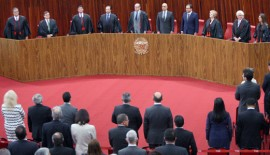 TSE 270x155 - Lígia prestigia posse de ministros no Tribunal Superior Eleitoral