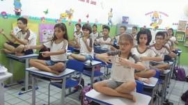 alunos5 270x151 - Prática de meditação em escola estadual da Paraíba repercute nacionalmente