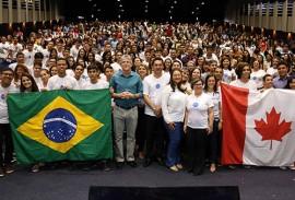 ricardo em giramundo brasil e canada foto 1 270x183 - Ricardo participa da solenidade de pré-embarque dos selecionados no Programa Gira Mundo