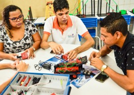 see preparacao para olimpiada de robotica foto Delmer Rodrigues 1 270x191 - Escolas da Rede Estadual se preparam para etapa da Olimpíada Brasileira de Robótica em João Pessoa