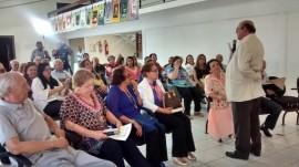 Damião e plateia 1 270x151 - Legado de José Américo de Almeida é destaque na programação da Primavera dos Museus