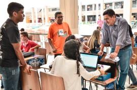 Delmer Rodrigues 6 270x178 - Equipe da Escola Cidadã Integral de Itabaiana conquista primeiro lugar na Robotec/PB
