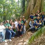 alunos do iep participam de aula de campo no jardim botanico (2)