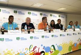 edgar hubner dir geral foto walter rafael 270x185 - Vice-governadora participa de apresentação dos Jogos Escolares da Juventude à imprensa