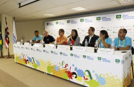 ligia feliciano fala foto walter rafael 1 270x176 - Vice-governadora participa de apresentação dos Jogos Escolares da Juventude à imprensa