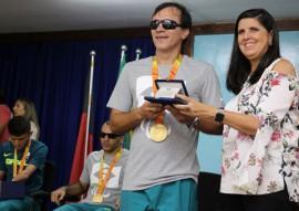 ligia homenagem paratletas foto francisco franca 270x191 - Ricardo homenageia atletas paraibanos que participaram da Paralimpíada Rio 2016