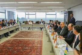 ricardo encontro de gov com ministra carmen lucia stf 1 270x179 - Em Brasília: Ricardo se reúne com nova presidente do STF e participa de audiência com ministro da Fazenda