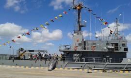 visita navio3 270x162 - Centenas de pessoas visitam rebocador da Marinha no Porto de Cabedelo