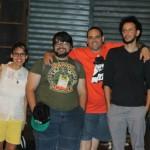 2013-festival internacional de quadrinhos-thaïs,samuel,jaime,lauro