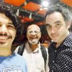 FOTO - CURADORIA MUSIC FOM PB - Rayan Lins - Rosildo Oliveira e Arthur Pessoa