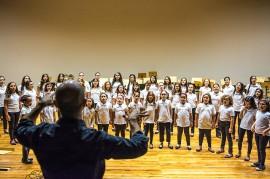 ensaio coro infantil18 270x179 - Orquestra e Coro Infantil da Paraíba apresentam concerto comemorativo ao Dia das Crianças no Espaço Cultural