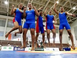 luta ouro 270x205 - Governo do Estado garante participação de paraibanos na 2ª Copa Natal de Luta Olímpica