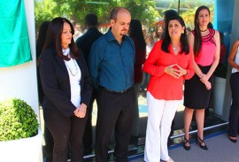 vice governadora ligia fala 270x183 - Conselho das Secretarias Municipais de Saúde inaugura nova sede
