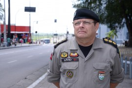 Coronel Lívio Delgado Comandante do Policiamento Regional Metropolitano 2 270x180 - Polícia divulga esquema de segurança para Romaria da Penha