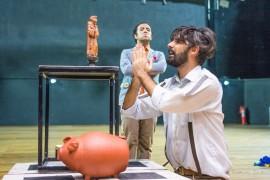 foto Thercles Silva 3 270x180 - Alunos do curso de teatro da Funesc encenam mix de três peças de Ariano Suassuna