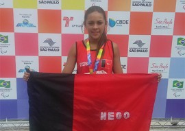 paraolimpiada sp vitoria emanuella 270x191 - Paraíba já soma 42 medalhas em dois dias das Paralimpíadas Escolares