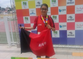see paralimpiadas escolares Maria Eduarda 270x191 - Paraíba conquista 15 medalhas no atletismo no primeiro dia de disputa das Paralimpíadas Escolares Brasileiras 2016