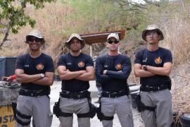 EQUIPE VENCEDORA 270x180 - Policiais militares participam de campeonato de tiro em comemoração aos 59 anos da Casa Militar
