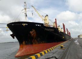 porto de cabedelo recebe navio Panforce com trigo 270x196 - Embarcações movimentam Porto de Cabedelo com cerca de 50 mil toneladas de carga