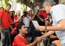 ricardo recebe atletas paralimpico foto jose marques 21 270x191 - Ricardo recebe paratletas e destaca o esporte como instrumento de inclusão social