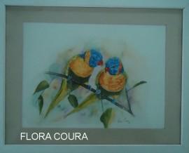 FLORA COURA 02 270x218 - 'Prismas' mostra trabalhos de três artistas plásticos paraibanos na Funesc