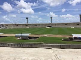 IMG 20170106 WA0016 270x202 - Gramado do Almeidão recebe tratamento especial para o Campeonato Paraibano 2017