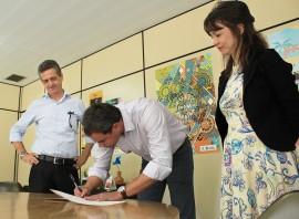 IMG 0982 270x198 - PBGás e Funesc assinam contrato para realização de projeto cultural
