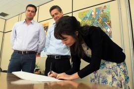 IMG 0991 270x180 - PBGás e Funesc assinam contrato para realização de projeto cultural