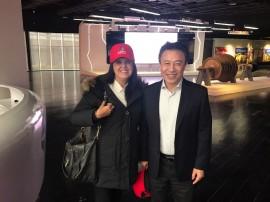 Lígia Feliciano e Song Jing Yan Shanghai Eletrics 270x202 - Em Xangai: Lígia conhece geradora de energia e discute parcerias com a Paraíba